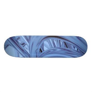 Blue Thrash Flux Skate Board Deck