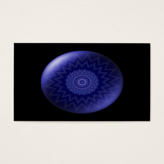Blue Throat Chakra Business Card