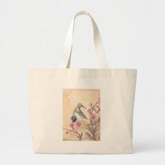 Blue-Throated Hummingbird Tote Bag