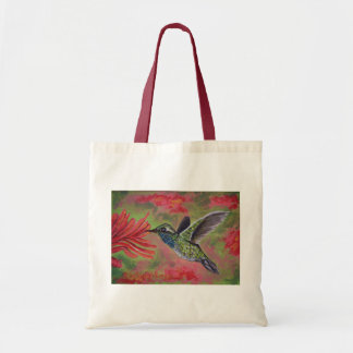 Blue Throated Hummingbird Canvas Tote Bag