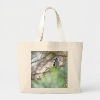 Blue-throated Hummingbird Jumbo Tote Bag