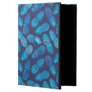 Blue Tie Dye Pineapples iPad Air Covers