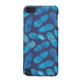 Blue Tie Dye Pineapples iPod Touch 5G Case
