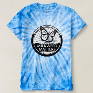 Blue Tie-Dye with BW Logo T-Shirt