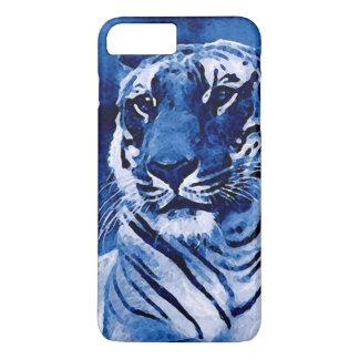 Blue Tiger Artwork iPhone 7 Plus Case