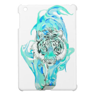blue tiger iPad mini cover