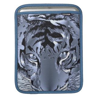 blue tiger iPad sleeve