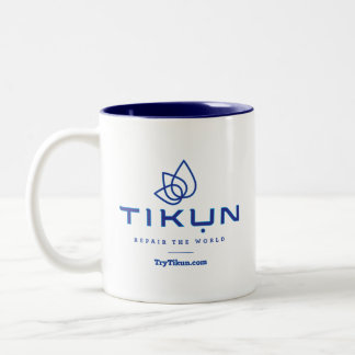 Blue Tikun Coffee Mug