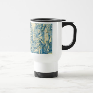 Blue tile (Full picture) Coffee Mug