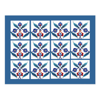 Blue Tile -Istanbul Turkey Postcards