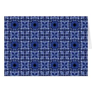 Blue Tiles Cards