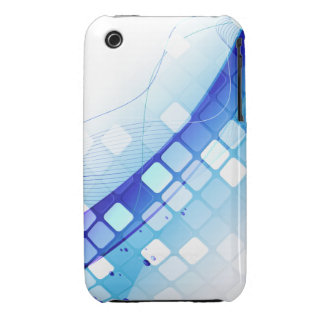 Blue Tiles iPhone 3 Cases