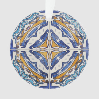 Blue Tiles Ornament