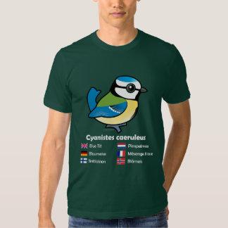 Blue Tit International Tshirts
