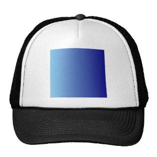 Blue to Navy Blue Vertical Gradient Trucker Hat