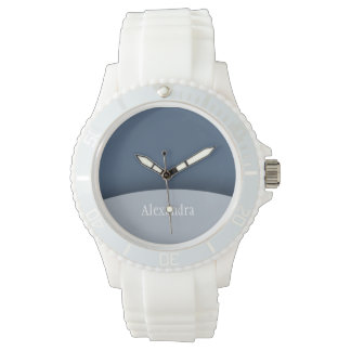Blue Tones Sporty Women's Watch