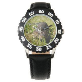 Blue_Tongue_Lizard_Kids_Black_Numbered_Watch Wrist Watches