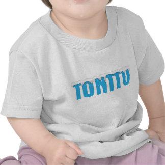 Blue Tonttu Infant White T-Shirt