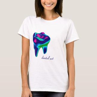 Blue Tooth Dental Art Dentist T-shirt