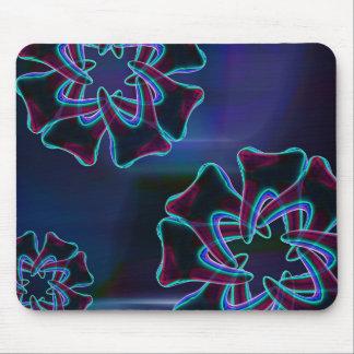 Blue Tooth Flower Design Dentist Mousepad