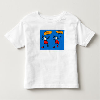 Blue Tootsies  say  hello Toddler T-Shirt