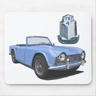 Blue TR4 Mouse Pad
