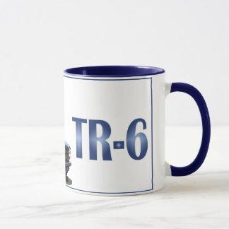 Blue TR6 Mug