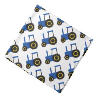 Blue Tractor Bandana