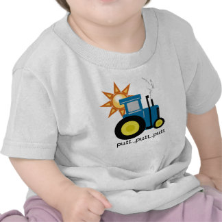 Blue Tractor T Shirts