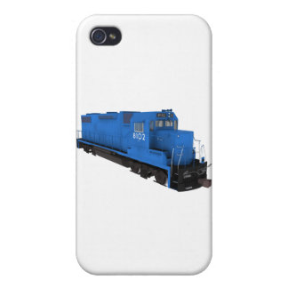 Blue Train Engine: Case For The iPhone 4
