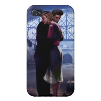 Blue Train iPhone 4 Covers