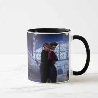 Blue Train Mug