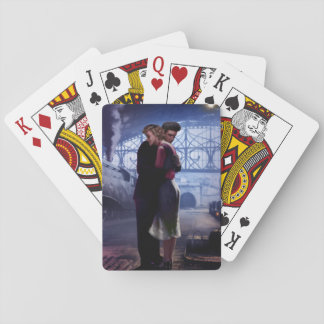 Blue Train Playing Cards