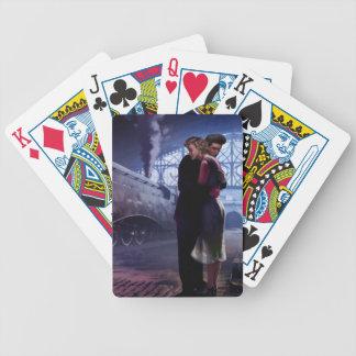 Blue Train Poker Deck