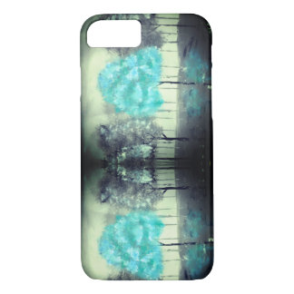 Blue Tree acrylic art apple iphone 8/7 case