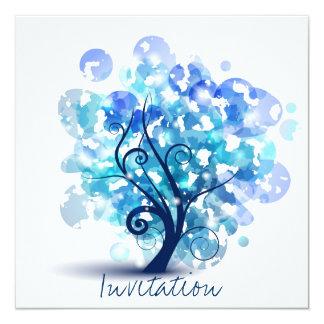 Blue Tree Card
