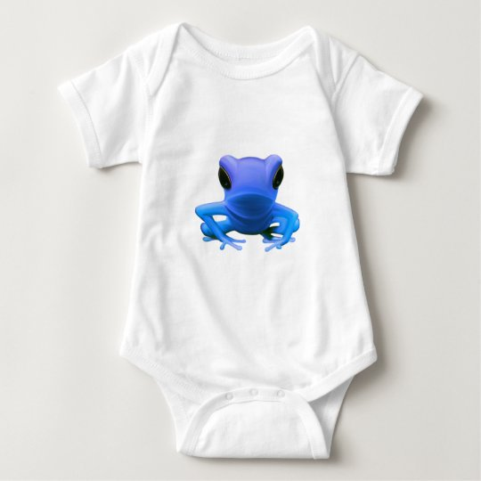 Blue Tree Frog Baby Bodysuit