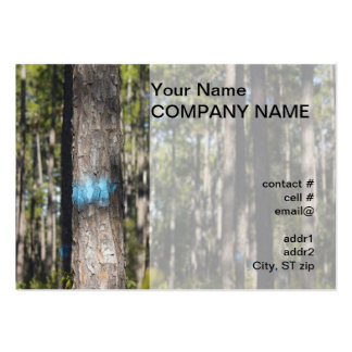 blue tree marking paint pack of chubby business cards