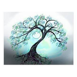 Blue Tree Postcard