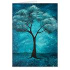 Blue Tree Sympathy Card