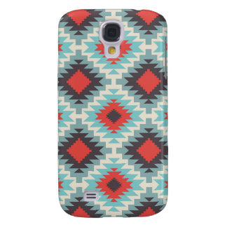 Blue Tribal Abstract Galaxy S4 Case
