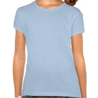 Blue Tribal Chinese Dragon Tee Shirts