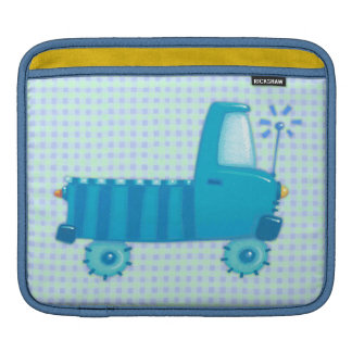 Blue Truck Sleeves For iPads
