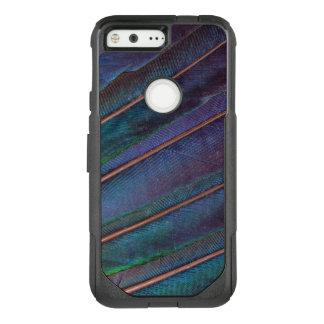 Blue Turaco Feathers OtterBox Commuter Google Pixel Case