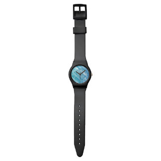 Blue turquoise polygonal men's May28th Watch