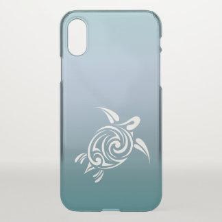 Blue Turtle Animal Hawaii Tropical Beachstyle iPhone X Case
