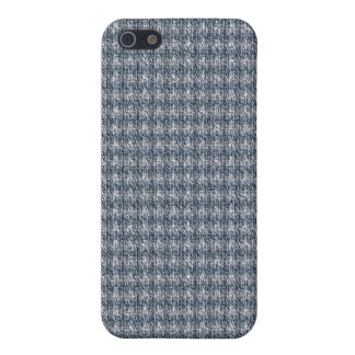 Blue Tweed iPhone 5/5S Cover