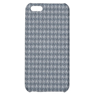 Blue Tweed Cover For iPhone 5C