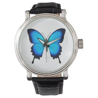 Blue Ulysses Butterfly Watch