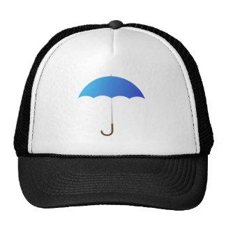 Blue Umbrella Hats